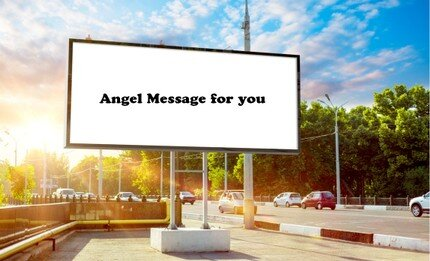 Angel Road Board Sign