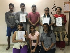 Reiki Level 4 Master level students -by kalpesh dave .JPG